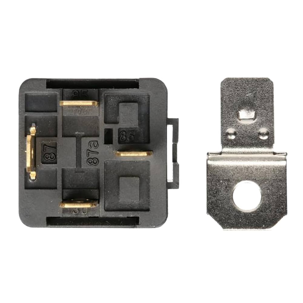 12v 30a 4 Pin Relay With Detachable Bracket 1 Pack Spp 118 C Universal