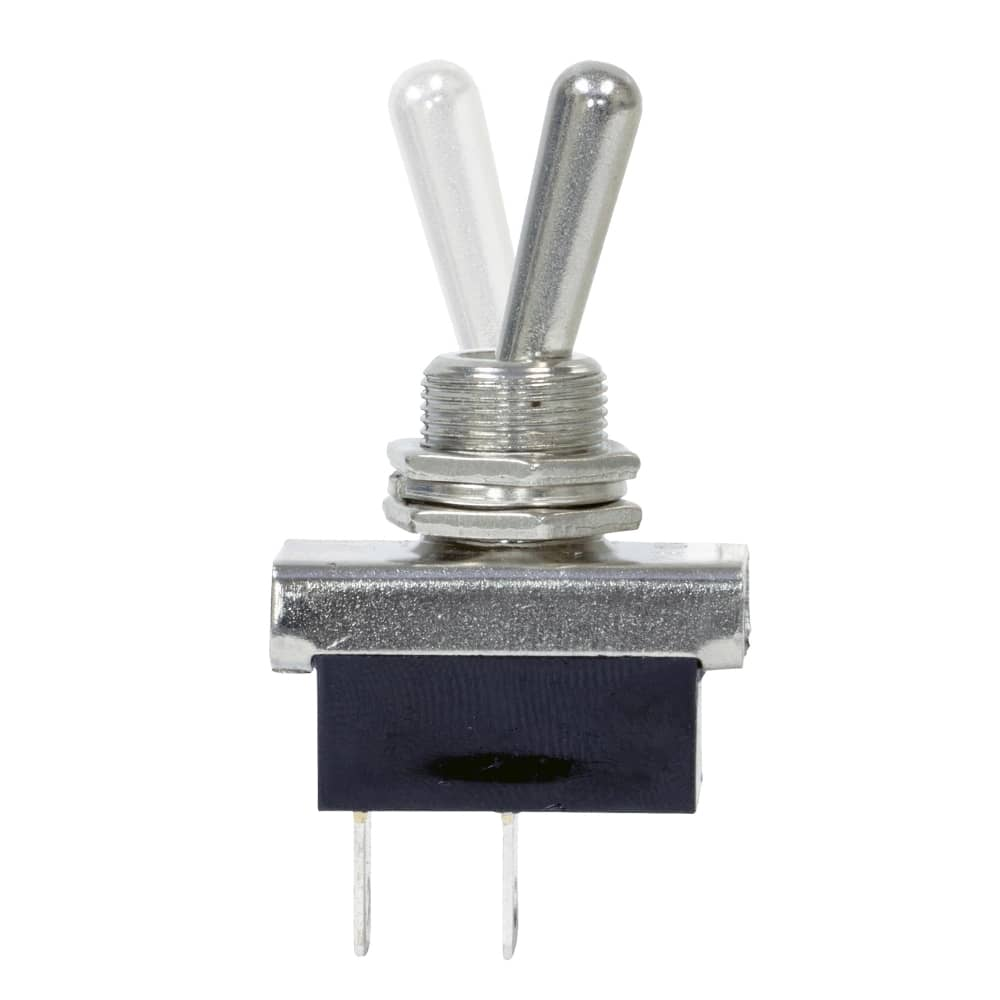 12V Metal Toggle Switch On/Off - 5 Pack (SWH110)