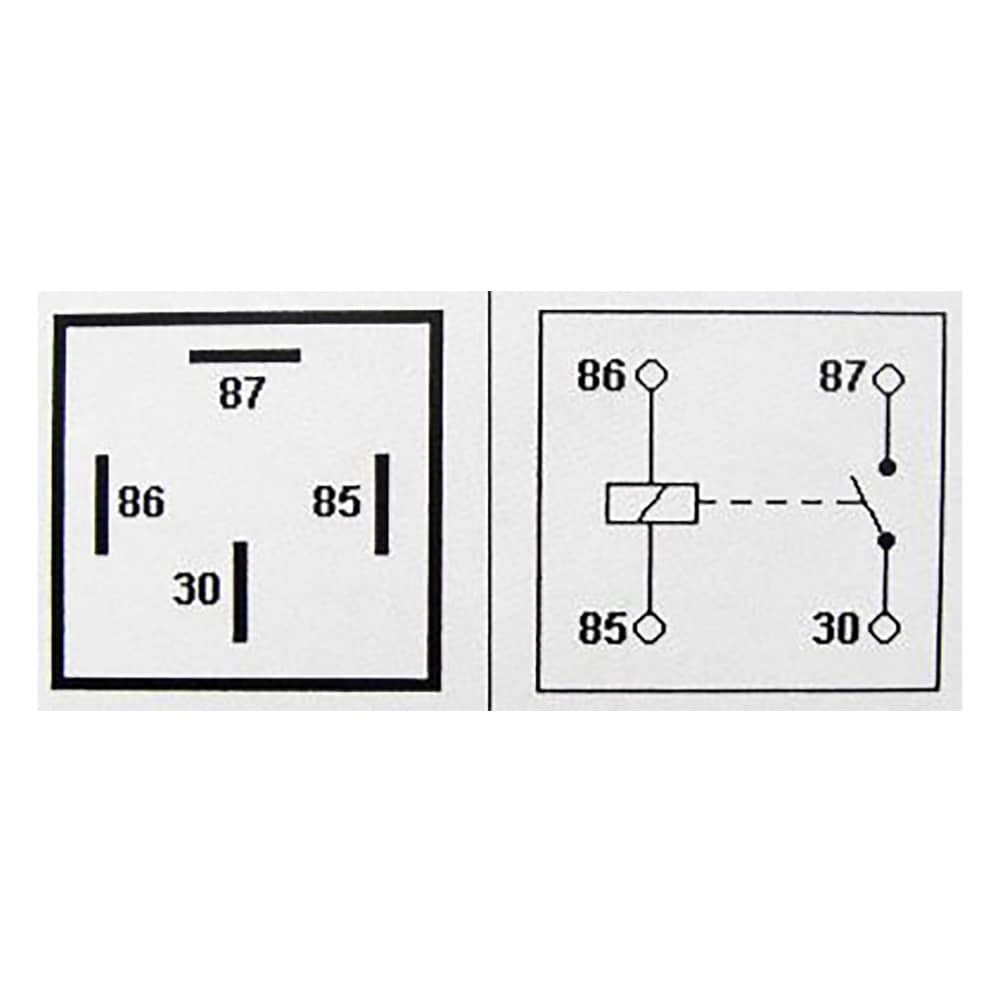 24v 20 30a 4 Pin Relay With Detachable Bracket 1 Pack Spp 248 C Wiring Diagram