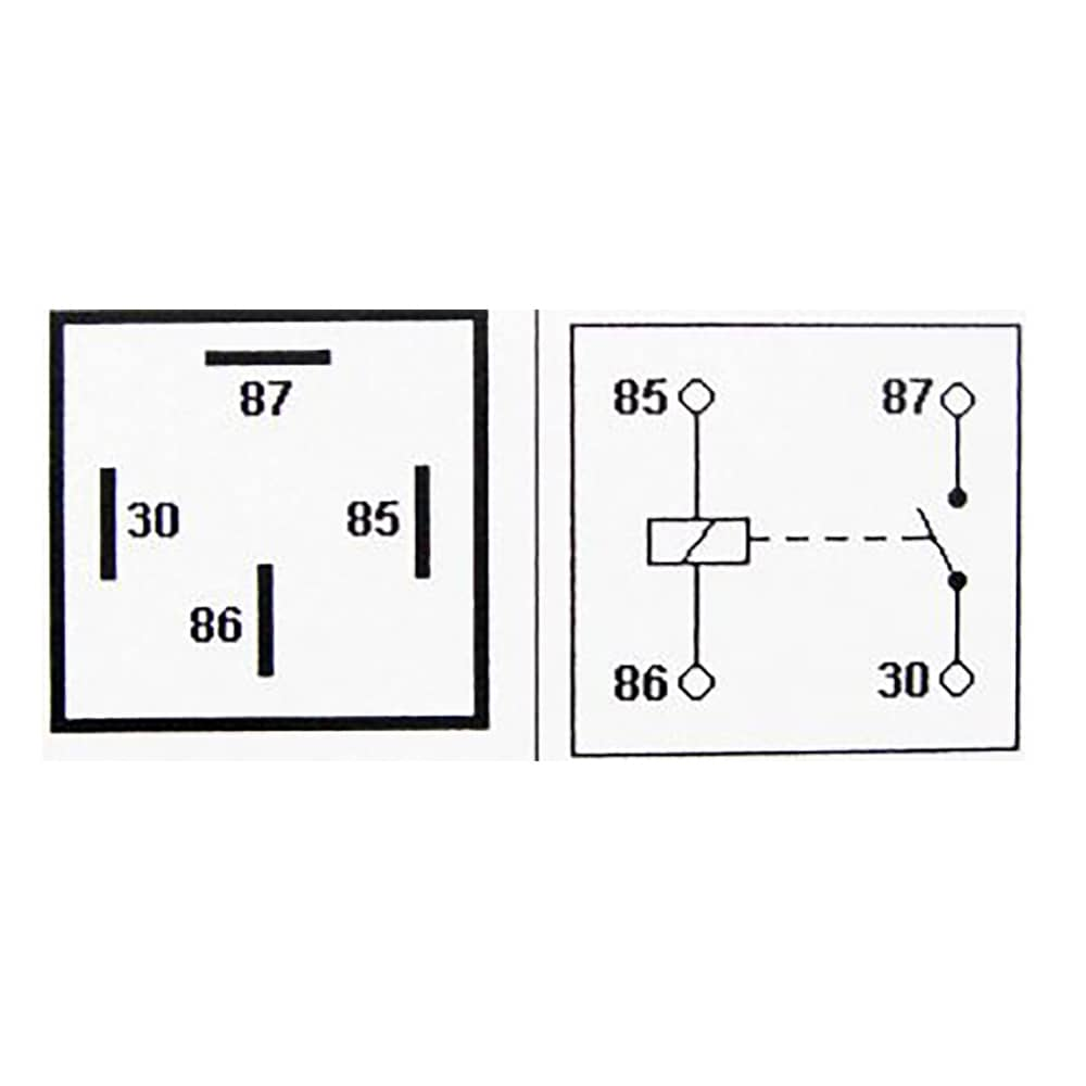 24v 30a 4 Pin Relay With Detachable Bracket 5 Pack Ry391 Wiring Diagram