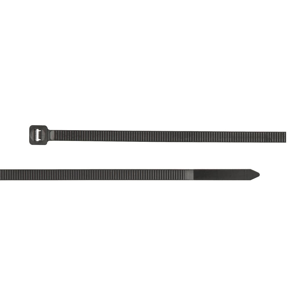 e961102355c8 AUTO CONSUMABLES 300mm x 4.8mm Quality Black Cable Tie - 100 Pack (CT8-B)