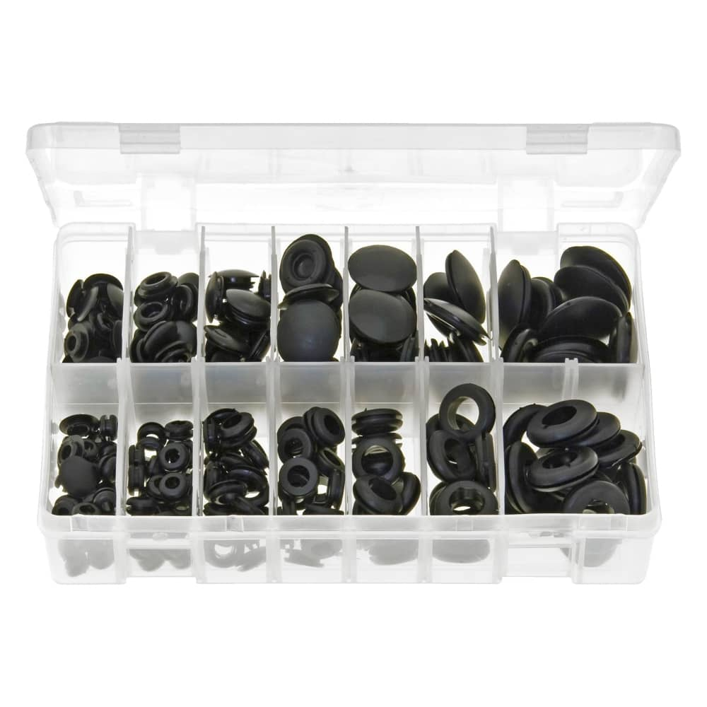 ortment of Blanking & Wiring Grommets - 240 Pieces (AB44) on