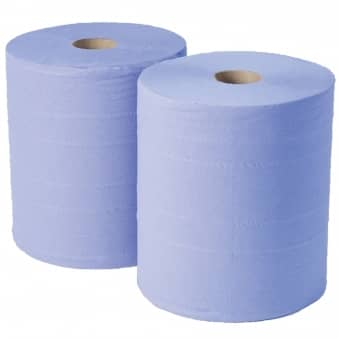 Blue Forecourt Rolls - 2 Ply - Case 2 (NPC703)