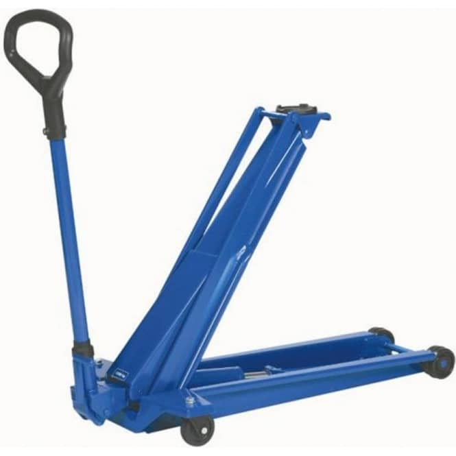weber 1 3 ton heavy duty high lift trolley jack (wdk13hlq)